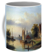 A Town By The River Coffee Mug
