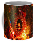 A Treasured Santa Coffee Mug by Laurie Lundquist