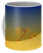A Tree At White Sands Coffee Mug