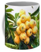 A Tree Full Of Ripe Loquats Coffee Mug
