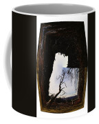 A Tree In A Square Abstract Coffee Mug