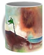 A Tree In Lanzarote Coffee Mug