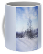A Tree In The Cold Coffee Mug