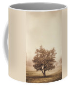 A Tree In The Fog Coffee Mug by Scott Norris