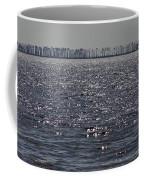 A Tree Lined View Of Biloxi Bay Coffee Mug