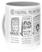 A Triptych Of Parental Valentines Day Cards That Coffee Mug