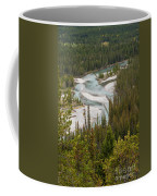 A Turn In The Bow River Coffee Mug