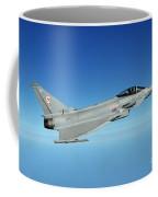 A Typhoon Aircraft From 29 Squadron Royal Air Force Coffee Mug