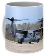 A U.s. Air Force Cv-22b Osprey Coffee Mug