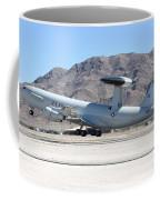 A U.s. Air Force E-3a Sentry Taking Coffee Mug