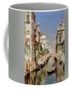 A Venetian Canal  Coffee Mug
