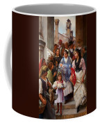 A Venetian Christening Party, 1896 Coffee Mug by Henry Woods