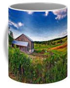 A Verdant Land Impasto Version Coffee Mug