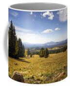 A View From The Peaks  Coffee Mug