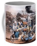 A View In White Chapel Road 1830 Coffee Mug