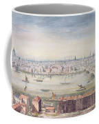 A View Of London From St Pauls To The Custom House, 1837 Coffee Mug