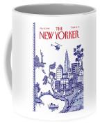 A View Of New York City Coffee Mug