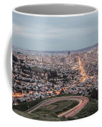 A View Of San Francisco At Twighlight Coffee Mug