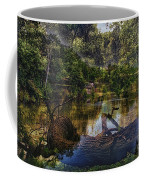 A View Of The Nature Center Merged Image Coffee Mug