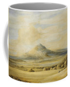 A View Of The Wrekin In Shropshire Going From Wenlock To Shrewsbury Coffee Mug
