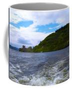 A View Of Urquhart Castle Coffee Mug