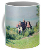 A Villa At Trouville Coffee Mug by Gustave Caillebotte