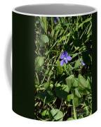 A Violet Coffee Mug