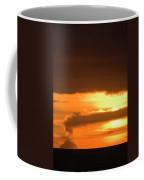 A Vocano Erupts In Kachemak Bay Coffee Mug