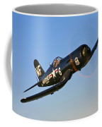 A Vought F4u-5n Corsair Aircraft Coffee Mug