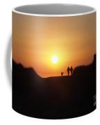 A Walk At Sunset Coffee Mug