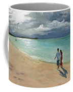 A Walk At Tumon Bay Guam Coffee Mug