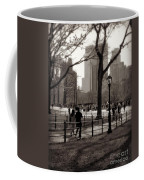 A Walk In Central Park - Antique Appeal Coffee Mug