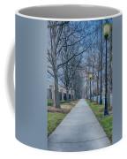 A Walk On A Sidewalk Street Alley Coffee Mug