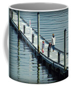 A Walk On The Pier Coffee Mug