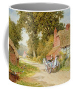 A Warwickshire Lane Coffee Mug by Arthur Claude Strachan