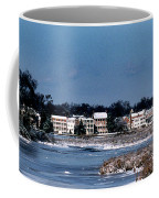 A Waterfront Christmas Coffee Mug by Skip Willits