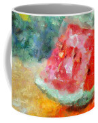 A Watermelon Coffee Mug
