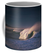 A Wave Breaks At Ziolkouski Beach Coffee Mug
