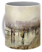 A Wet Day In Whitby Wc On Paper Coffee Mug
