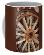 A Wheel In A Wheel Coffee Mug by Phyllis Denton