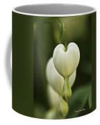 A White Heart Coffee Mug