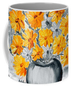 A Whole Bunch Of Daisies Selective Color I Coffee Mug