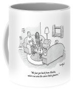 A Wife Tells Guests At A Dinner Party Coffee Mug