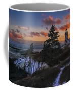 A Winter Dusk At West Quoddy Coffee Mug