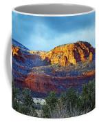 A Winter Dusting On Bear Mtn Coffee Mug