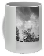 A Winter Eve Monochrome Coffee Mug