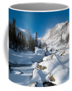 A Winter Morning In The Mountains Coffee Mug by Cascade Colors