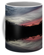 A Christmas Winter Sunset Coffee Mug