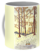 A Winters Glow Coffee Mug