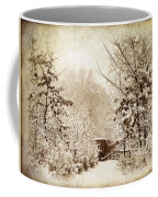 A Winter's Path Coffee Mug